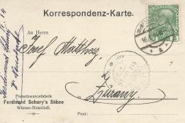 1914 Ferdinand Schury's Söhne a 10R