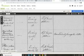 1894 Sterbeurkunde Franz Schicker Seite 2 120HW