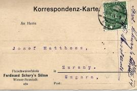 1914 Ferdinand Schury's Söhne 19R