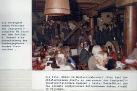1981 R. Hoesch Abschiedsessen in der Alten Mühle 25PRO
