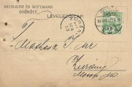 1913 Neubauer & Wittamnn a 3R