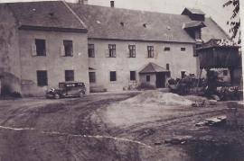 1940er Ansichtskarte Götz Mühle 133AH