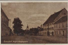 1938 25 Zurndorf Ansichtskarte