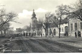 1938 36 Zurndorf Ansichtskarte