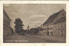 1947 40 Zurndorf Ansichtskarte