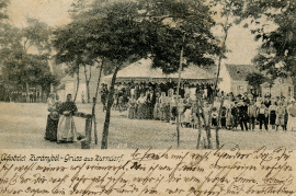1906 Ansichtskarte Zurndorf 56HW