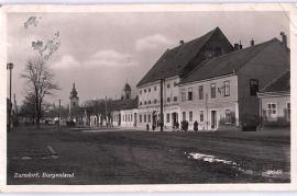 1939 Zurndorf, Strassenbild, gel