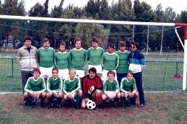 1989 166P ASV Zurndorf mit 4 Thaller Buam