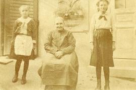 1930er Ersi Popp, Erszabet Weis Horwath, Anny Popp front 24HW