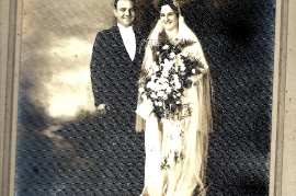 1928er Hochzeit Fam. Lentsch in Amerika 260B