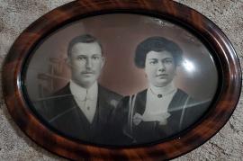 1912 Hochzeitsfoto Andreas u. Kathi Horwath 69HW