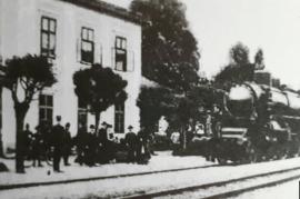 Bahnhof  1930er