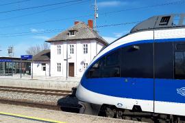 Bahnhof Zurndorf heute