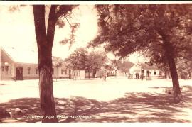Dorfplatz einst