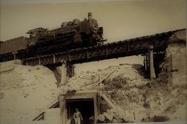 1947 5 Dampflock Schwiebogen 1947-50