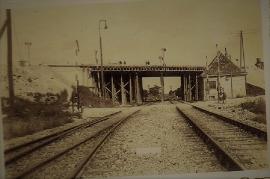 1947 6 Brückenbau über die Bahnstrecke 1947-50