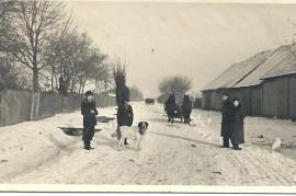 1950er Winter in der Deutsch Jahrndorfer Str. 80PM