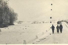 1950er Winter in Zurndorf D.-Jahrndorferstr. 82PM