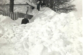 1929 98 Winter in Zurndorf