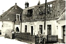 1958 Umbau Haus Gervani  Obere Hauptstr. 25 A177
