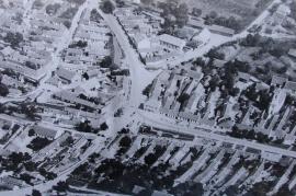 1960er Luftaufnahme Zurndorf 2 LI
