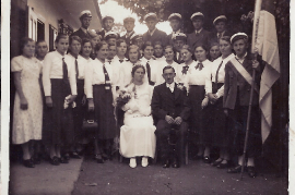 1940 Hochzeit Tustich ?, g.r. A. Horvath 17EDA