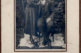 1921 Hochzeit Karoline und Matthias Schreiner 57SL