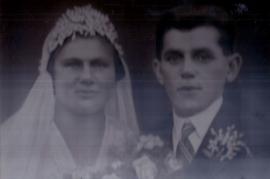 1930 K. Sonnleitner, M. Sonnleitner Hochzeit 91So