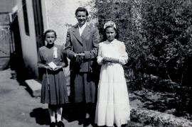 1953 Firmung, Erika Prasch, E. Göbl, Monika Bodenbrunner 96ME