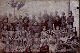 1920er evang. Schulklasse 216PM