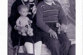 1959 Juliane u. Ewald Farkas im Kindergarten 3FAR