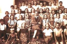 1923 4H Schule Lehrer Tuschl