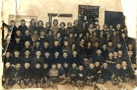 1927 Schulkasse