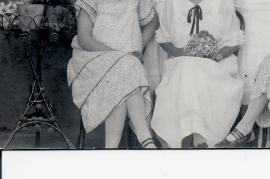 1930er Ebner Maria und und Pekar Geschwister 11LAG