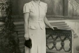 1930er Karoline Bruckner geb. Ecker 1DM