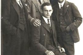 1930er li. K. Chmela sen, r. Hr. Müllner 36B