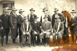 1930er Musterung g.r. Michl Milleschitz 53BA