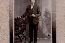 1920 Ebner Johann Auswanderer nach Amerika 5HJ