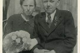 1930er Kirschner Johann u. seine Frau 62HW