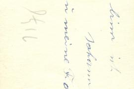 1930er Rückseite Johann Kirschner und seine Frau 62HW