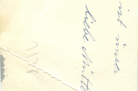 1930er E. Kischner, geb Meszner, Elisabeth Rückseite 63HW
