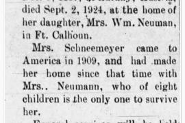 1924 Maria Schneemayer Zeitungsartikel 68HW