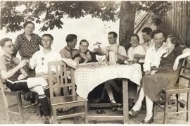 1930er 4.vl. J. Metzl, 5.vl. R. Metzl 7SZ