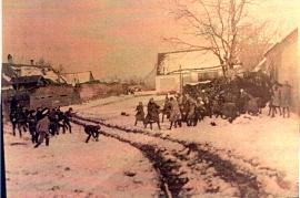 1920 9M  Beim Gemeindestadel in der Quergasse