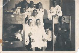 1940 1. Reihe ganz rechts Hans Schusterreiter 43SG
