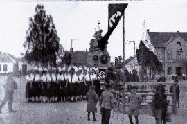 1939 am Hauptplatz in Zurndorf 6SM