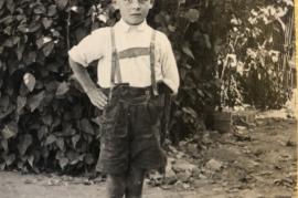 1940 der jüngste Bruder meiner Oma 7SP