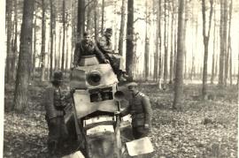 1939 polnischer Panzerwagen wz34 89MP