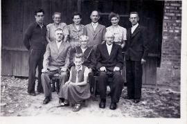 1950er Fam. Weisz Bäck 12WB