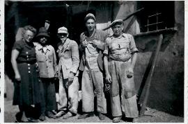 1950er Götz Mühle die Hackler mit R. Götz 138Gö